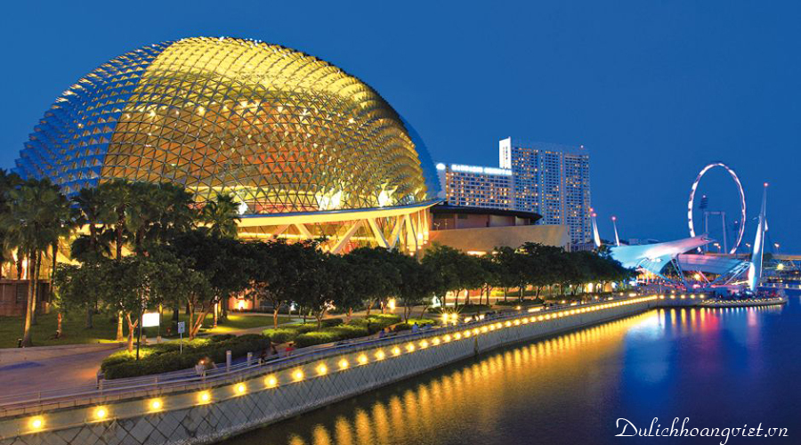 Du lịch Singapore: Tour Sentosa - Garden by the bay 2018 (SB)